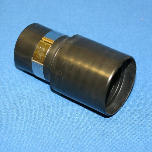 Generic Black Hose Cuff Wall End for Central Vac 1-1/4''