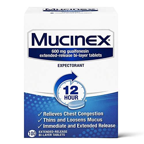 Chest Congestion Mucinex 12