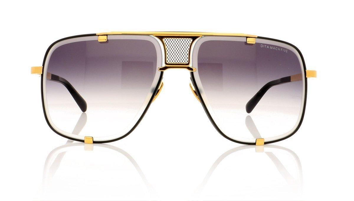 500fbf52141b Sunglasses Dita MACH FIVE DRX 2087 A-BLK-GLD Matte Black-Yellow Gold ...