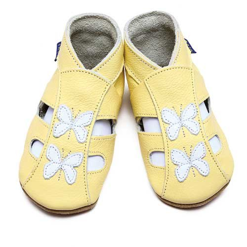 Inch Blue - Zapatos, color amarillo [talla: 20]