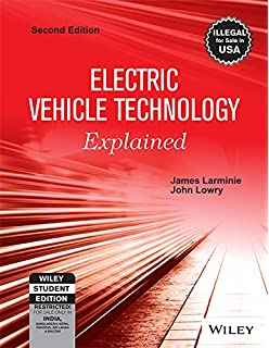 Buy electric and hybrid vehicles design fundamentals second electric vehicle technology explained 2ed wse fandeluxe Gallery