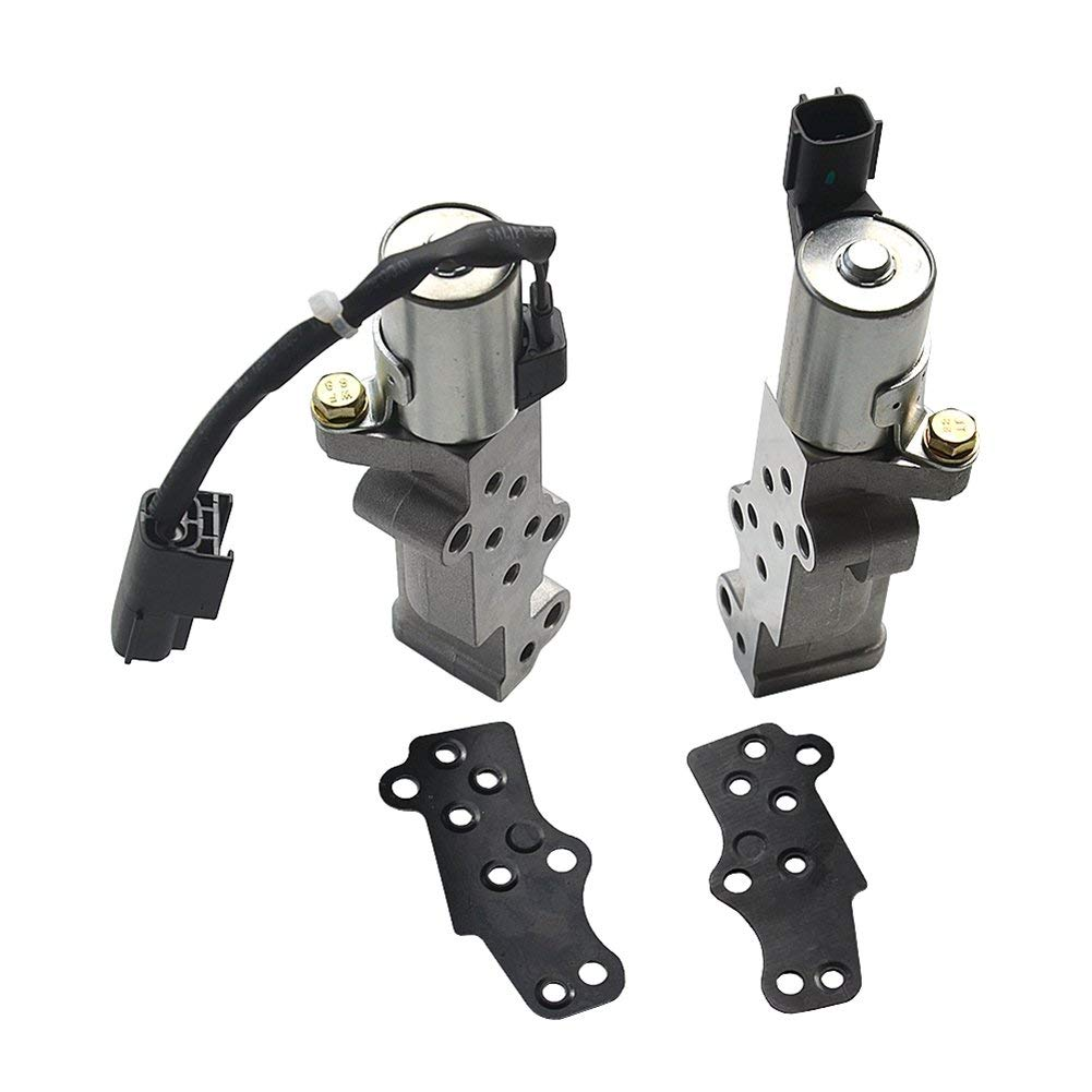 Variable Valve Timing Solenoid//Actuator VVT Valve Fits for 2001-2004 INFINITI QX4 NISSAN PATHFINDER 3.5L Engine Left Compatible to OEM 23796-4W01C 917-209 19020