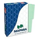 Mapasa PV0002 Paquete con 100 Sobres, Tamaño Oficio, color Verde