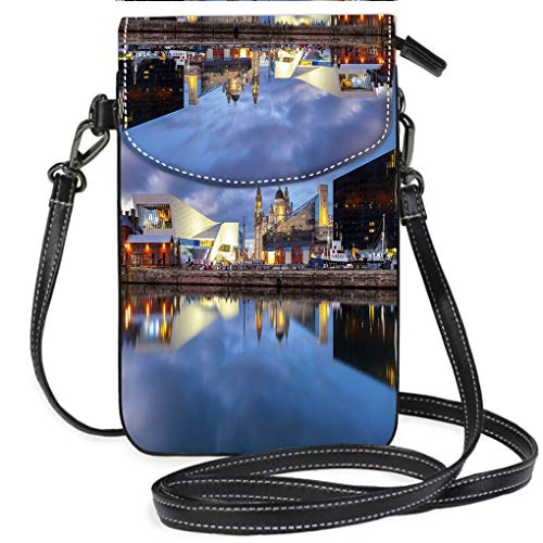 (Custom Trendy Shoulder Crossbody Bag Liverpool Docks Waterfront Lightweight, Water Resistant Travel Purse for Women)