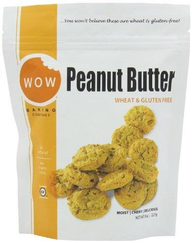 WOW Baking Gluten-Free Peanut Butter Cookies (3 x 8oz)
