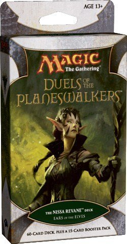 Magic the Gathering - Duels of the Planeswalker Deck - Ears of the Elves