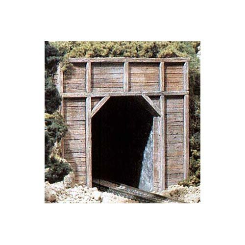 HO Single Tunnel Portal, Timber