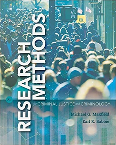 Research Methods For Criminal Justice And Criminology MindTap Course List 8th Edition