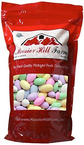 Hoosier Hill Farm Assorted Pastel Jordan Almonds (2 lb) Italian Almond Candy