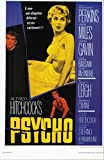 #10: Alfred Hitchcock's PSYCHO with Anthony Perkins Vera Miles John Gavin 11 x 17 Movie Poster Litho