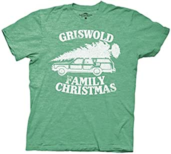 Griswold Family Christmas Vacation T-shirt (Small, Heather Green)