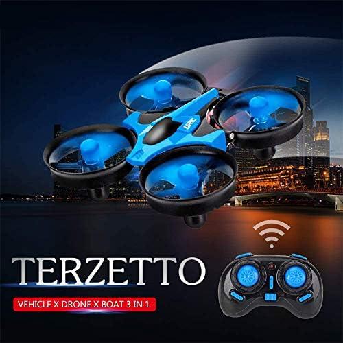 YUEBAOBEI Drone Enfants, Bateaux Télécommandés Piscines Et Lacs Élécommandé Aéroglisseur RC pour Enfant Débutant