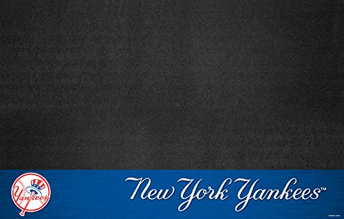 Fanmats 12162 MLB New York Yankees Vinyl Grill Mat from FANMATS