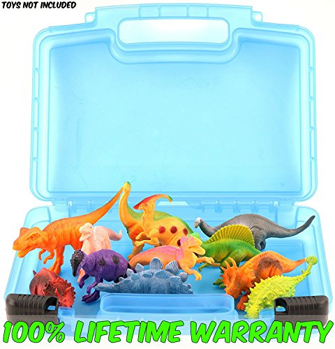 National Costume Park Ranger (Life Made Better Toy Storage Organizer. Fits Up To 15 Dinosaurs Figures. Compatible With Kidwerkz Dinosaur Figures , Prextex Dinosaur Figures And Fun Express Dinosaur)