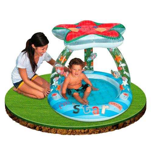Intex piscina bebe estrella 45 l for Piscina hinchable bebe