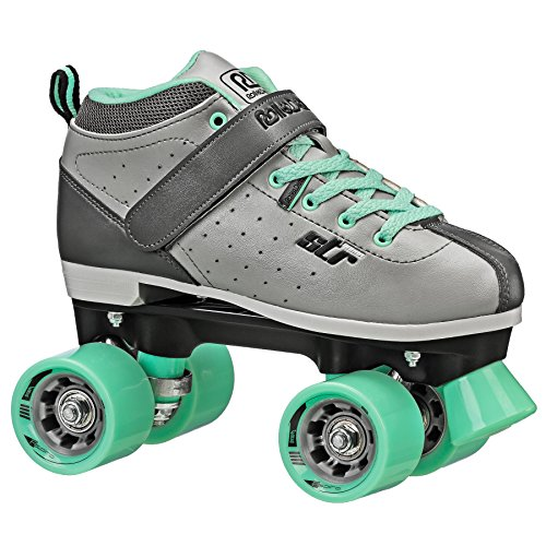 Roller Derby Str Seven Women's Roller Skate, Grey/Mint, 8 ()