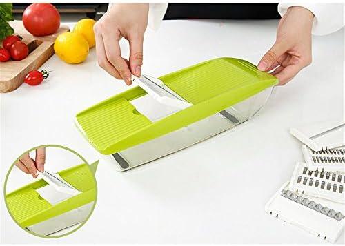 Carotte de l/égumes trancheuses de Chips Fruits multifonctionnels 2 en 1 MoYouno /Éplucheur de Pommes de Terre en Acier Inoxydable Accessoires de Cuisine