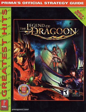 Legend Of Dragoon Playstation - Legend of Dragoon-Greatest Hits: Prima's Official Strategy Guide