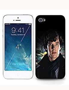 Cool Plastic Sherlock(Holmes) Print for Iphone ipod touch4 Case