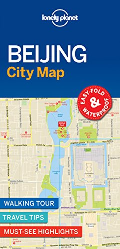 Lonely Planet Beijing City Map 1st Ed.: 1st Edition