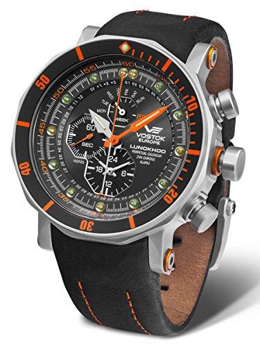 Vostok Europe YM86/620A506 Lunokhod 2 Pro Diver Watch