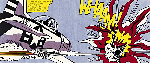 Roy Lichtenstein Giclee Canvas Print Paintings Poster Reproduction (Whaam)