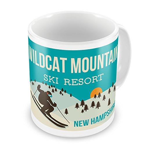 Coffee Mug Wildcat Mountain Ski Resort - New Hampshire Ski Resort - NEONBLOND (Wildcat Ski)