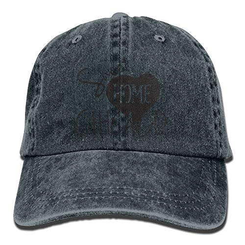 Sweet Home Chicago Denim Hat Adjustable Men's Great Baseball Caps,Navy,One Size