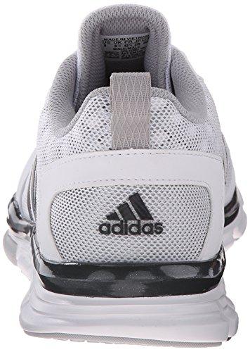 Adidas Prestanda Mens Hastighet Tränare 2 Utbildning Sko Vit / Kol Metallic / Ljus Onyx