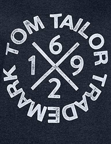Casual Bleu washed Tom 11078 Navy Tailor Knitted Homme Sweat shirt aX5wCqwv