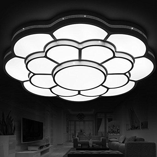 BLYC- Mode Kunst Kuppel Licht LED-Deckenleuchte Runde Schlafzimmer Beleuchtung Idee atmosphärische Wohnzimmer Lampe Durchmesser 450 / 650mm Höhe 130mm , 650mm