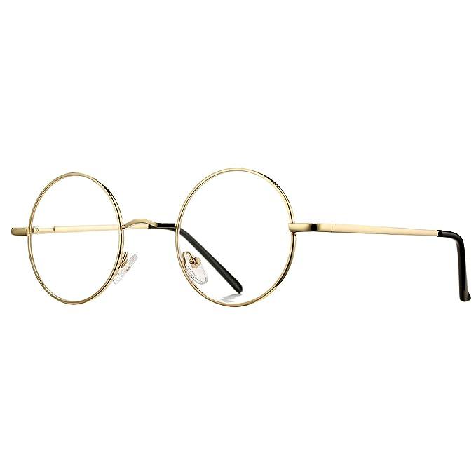 Amazon.com: Pro Acme - Gafas sin receta (montura de metal ...