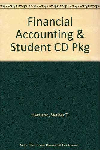 Financial Accounting & Student CD Pkg