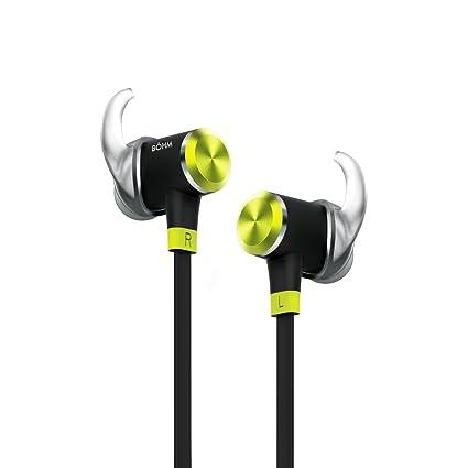 d16e5d0fdc5 BÖHM S9 High-Performance Wireless Bluetooth Sport Headphones/Earbuds -  Features Inline Microphone &