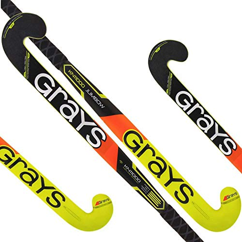 GRAYS KN11000 Jumbow Composite Outdoor Field Hockey Stick Free Grip & Carrying Bag (37.5