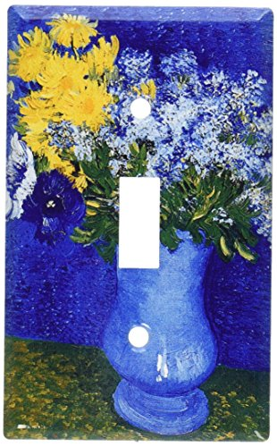Decorative Switchplate Cover - Art Plates - Van Gogh: Lilacs, Daisies Switch Plate - Single Toggle