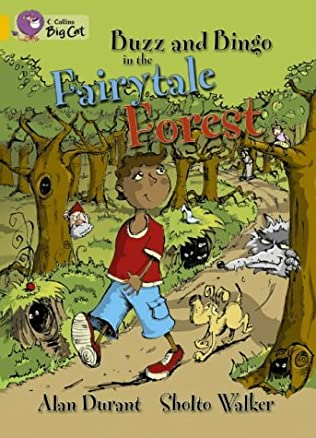 book cover of Buzz and Bingo in the Fairytale Forest