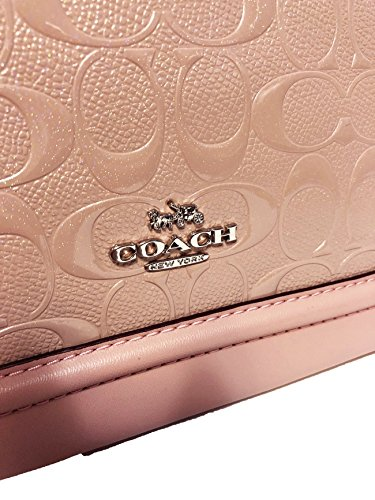Inclined Shoulder Blush Mini Shoulder Purse Satchel Women��s Coach Handbag Sierra P67Af