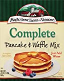 Maple Grove Farms, Complete All Natural Pancake & Waffle Mix, 24 Ounce (Pack of 6)