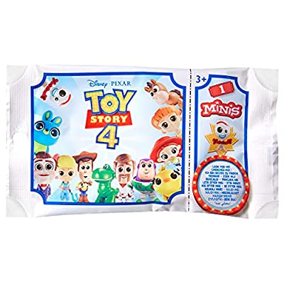 Disney Pixar Toy Story 4 Minis Figures [Styles May Vary]: Toys & Games