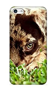 meilinF000Ellent Design Animal Dog Case Cover For ipod touch 5 For New Year's Day's GiftmeilinF000