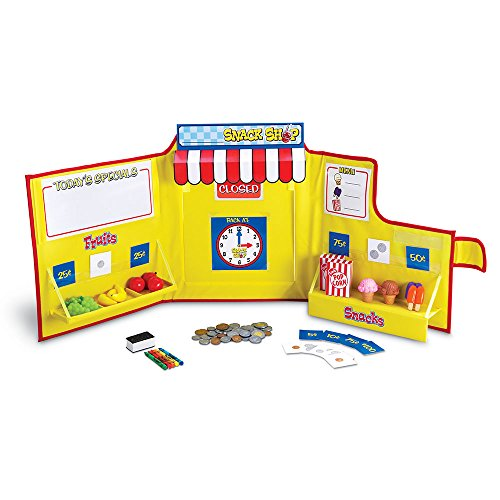 Learning Resources Pretend & Play Snack Shop Play Food Set