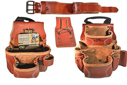 CLC Custom Leathercraft 21448 15 Pocket, 4 Piece Pro Framers Combo System Tool Belt by Custom Leathercraft (Image #5)