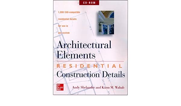 architectural elements residential construction details