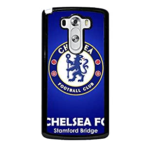 Official EPL Football Team Chelsea FC Logo Phone Case Classic Blue Design Custom Chelsea Football Club Logo Protective Case Cover Snap On LG G3