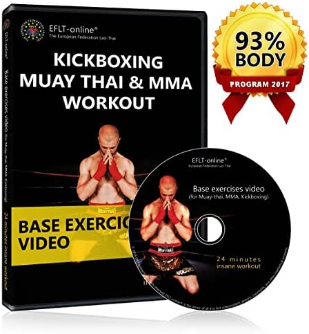 Kickboxing DVD Workout - Muay Thai Boxing MMA fitness videos - Cardio exercises
