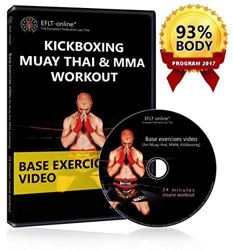 Kickboxing DVD Workout – Muay Thai Boxing MMA fitness videos – Cardio exercises