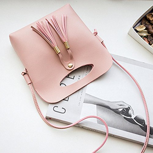 Women Crossbody Messenger Bag and Girls Bag NXDA Women Pink Shoulder Blue For Bag Bag Purse Bag PU Leather Crossbody Handbag qtwESn7E