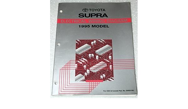 1995 Toyota Supra Electrical Wiring Diagram Jza80 Series Toyota Motor Corporation Amazon Com Books