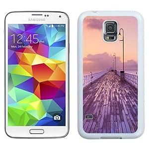 Beautiful Unique Designed Cover Case For Samsung Galaxy S5 I9600 G900a G900v G900p G900t G900w With Dawn White Phone Case